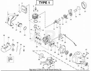 Poulan Pp125 Gas Trimmer Type 1  125
