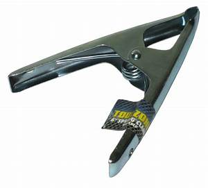 """Toolzone Tools 6"""" Metal Sprung Stall Clamp - Clip Tools"""