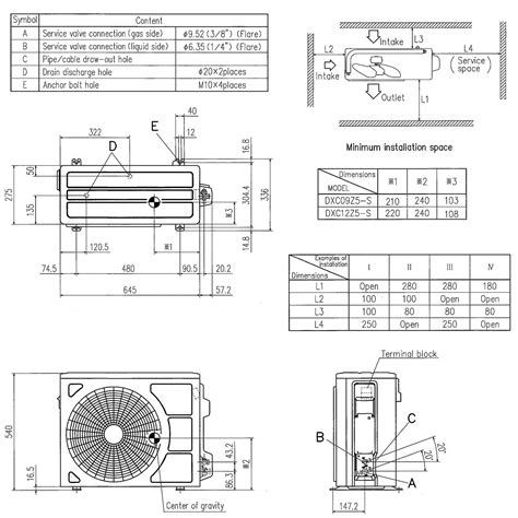 Installation Wiring Diagram For Industri by Mitsubishi Heavy Industries Srk25zmp S 2 5kw Wall Mounted