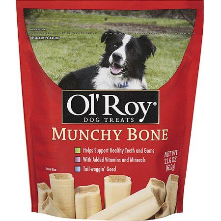 ol roy munchy bone dog treats  ct walmartcom