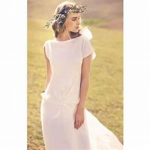 Robe De Mariée Romantique : robe de mariee romantique ~ Nature-et-papiers.com Idées de Décoration