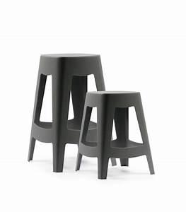 Tabouret De Bar Empilable : tabouret de bar ext rieur design empilable en plastique blanc ~ Teatrodelosmanantiales.com Idées de Décoration