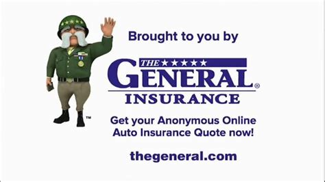 General insurance is typically defined as any insurance that is not determined to be life insurance. The General TV Spot, 'Investigation Discovery: Anonymous Quote' - iSpot.tv