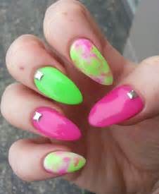 Fun bright summer gel nail art designs ideas trends stickers