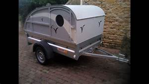 Fabriquer Mini Caravane : mini caravane sur remorque l g re 500 kg youtube ~ Melissatoandfro.com Idées de Décoration