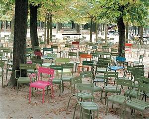 fauteuil empilable luxembourg metal verveine fermob With fermob jardin du luxembourg
