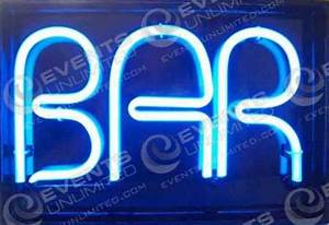 Neon Bar Signs Events Unlimited