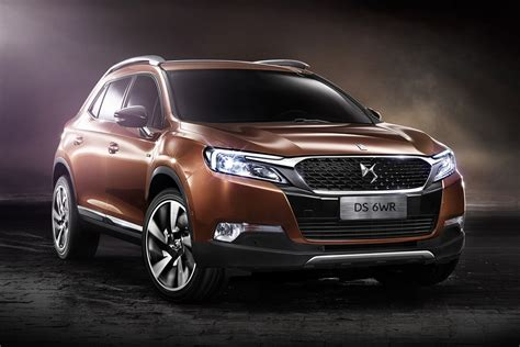 ds wr  french luxury suv interior revealed  china