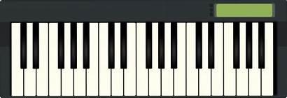 Keyboard Piano Clipart Musical Clip Midi Electric