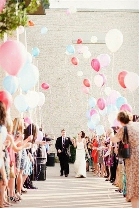 romantic wedding decoration ideas  balloons