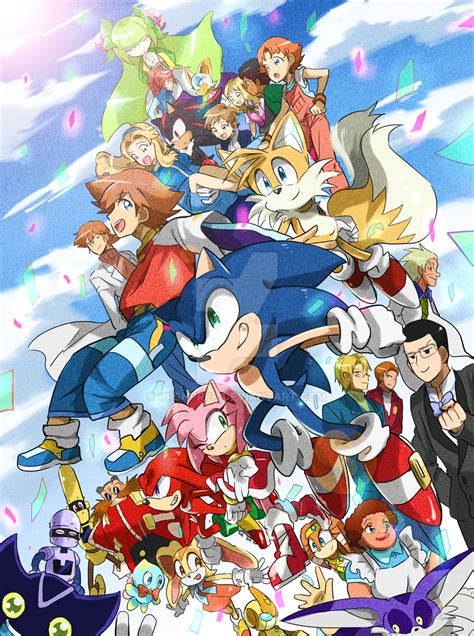 Love For Sonic Team Favourites By Chibiirose On Deviantart