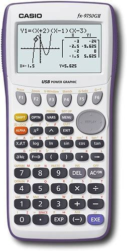 Best Buy: Casio Graphing Calculator FX9750GII W