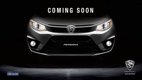 2016 Proton Persona Teased On Proton Cars Fb Page