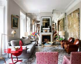 homes interiors eclectic mix in madrid home interior design files