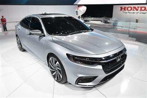 Honda 2019 : 2019 Honda Insight Hybrid To Debut In Detroit, Promises 50