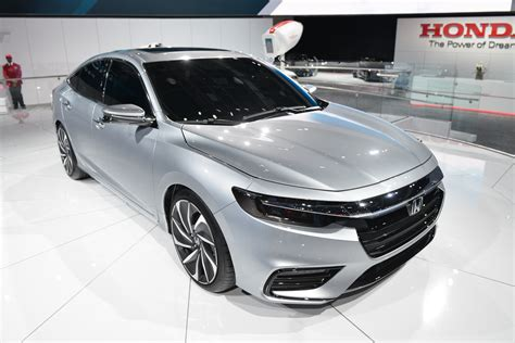 2019 Honda Insight Hybrid To Debut In Detroit, Promises 50