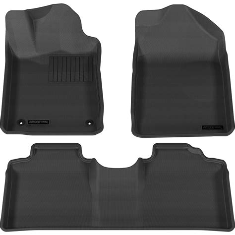 2005 Toyota Avalon Floor Mats by Aries 1st 2nd Row Black Floor Mat Liner Set For 2005