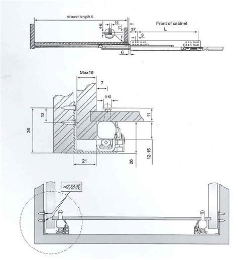 Guide Cassetti Cucina by Guide Cassetto Multimarca Guide Per Cassetti Incoll
