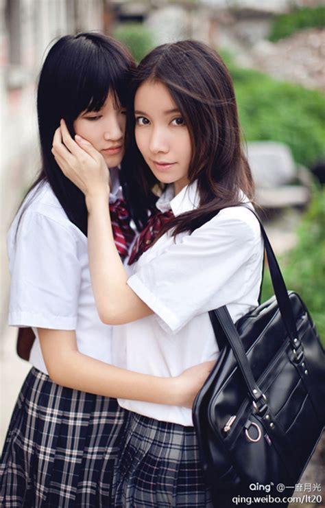 Lesbian Schoolgirls Quiet Japanese Teen Yuri Lets White