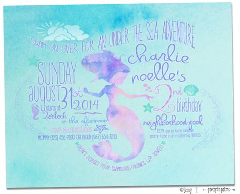 charlie 39 s mermaid 2nd birthday party project nursery
