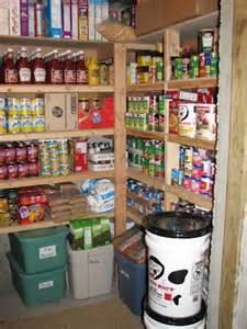 Basement Food Storage Pantry