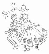 Embroidery Square Dance Patterns Flickr Pages Designs Hand Coloring Ab Line Pattern Dancing Cross Stitch Applique Transfers Fabric Dancers Mmaammbr sketch template
