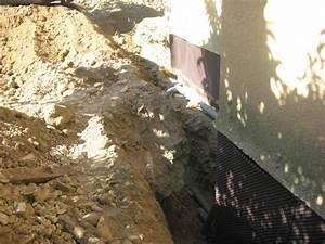 Étanchéité Mur Enterré Par L Intérieur : etancheit mur de maison georges s bastien artisan ma on ~ Farleysfitness.com Idées de Décoration
