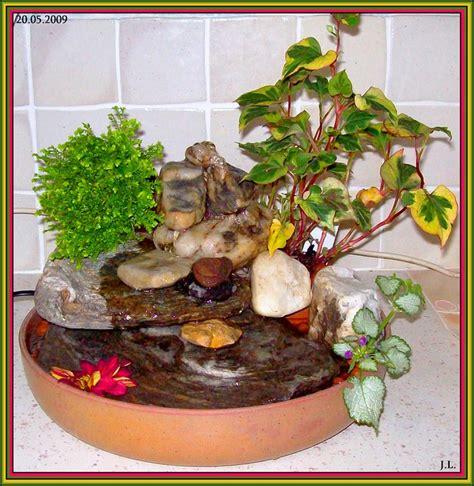 pot pour plante aquatique ma fontaine zen avec cascade fabrication maison bric a brac
