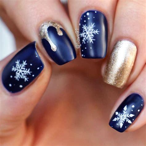 Маникюр и дизайн ногтей 2020 матовое покрытие. 40+ Winter Nails Ideas To Cheer Anyone Up   NailDesignsJournal.com