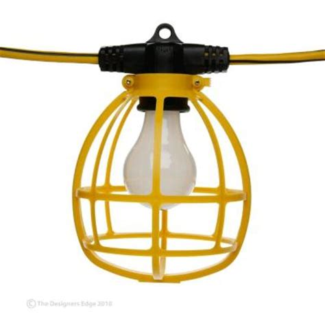 designers edge 100 ft temporary string light discontinued