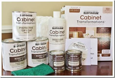 rustoleum cabinet painting kit painted cabinets