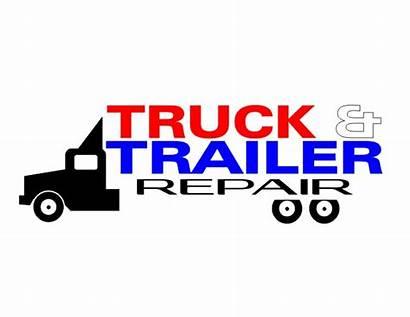 Truck Trailer Repair Repairs Complete Playful Masculine