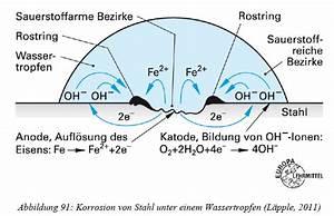Korrosion Von Eisen : welche korrosionsart ist bei metallen die am h ufigsten werkstofftechnik ~ A.2002-acura-tl-radio.info Haus und Dekorationen