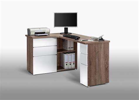 bureau angle avec rangement bureau informatique d 39 angle contemporain avec rangement