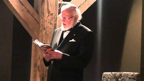 Knuts Skujenieks lasa dzeju - YouTube