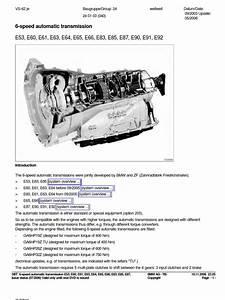 6 Speed Automatic Transmission Bmw