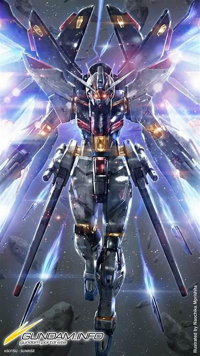 Gundam Burning Wallpapers Freedom Background Strike Info