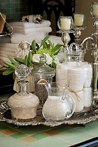 25 great ideas about apothecary jars bathroom on With best brand of paint for kitchen cabinets with cheap crystal candle holders