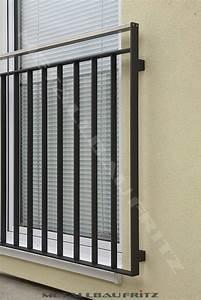 Balkongeländer Pulverbeschichtet Anthrazit : schlosserei metallbau fritz franz sischer balkon 56 04 ~ Michelbontemps.com Haus und Dekorationen