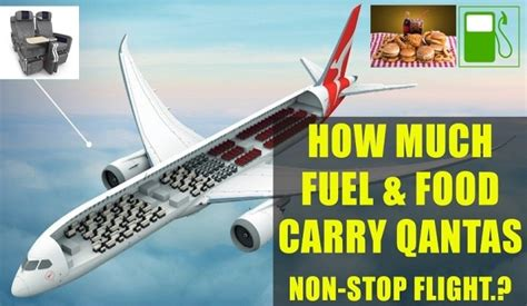 cuisine non stop lausanne how much fuel and food is required for qantas non stop