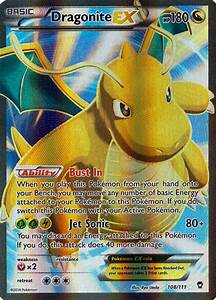 Pokemon Furious Fists Dragonite EX 108/111 FULL ART Rare ...