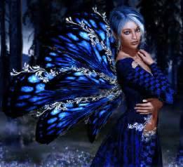 Beautiful Blue Fairies