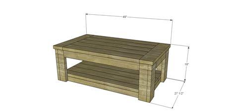 diy rustic coffee table plans build sam s rustic coffee table Diy Rustic Coffee Table Plans
