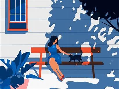 Summer Animation Graphic Missing September Dribbble Trends
