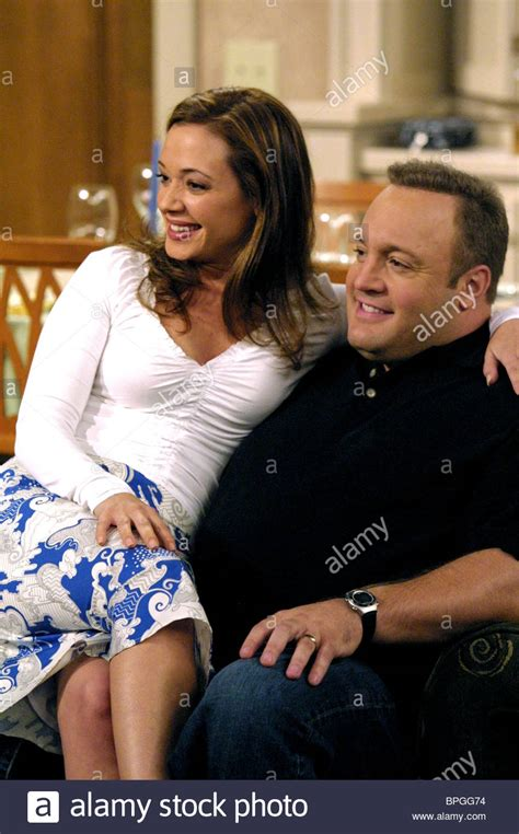 leah remini kevin james  king  queens  stock