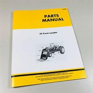 35 Farm Loader Parts Catalog Manual John Deere 1010 2010