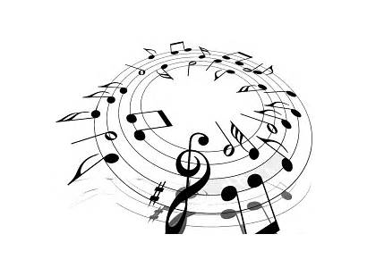 Notes Transparent Circle Note Musical Clipart Vector