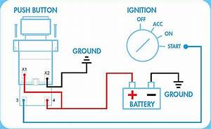 Panel Push On Ignition Switch Wiring Diagram