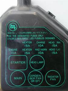 Ke70 Fuse Box Cover - Kexx Corolla Discussion