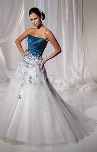 blue and white wedding dresses a trusted wedding source With blue dress for wedding